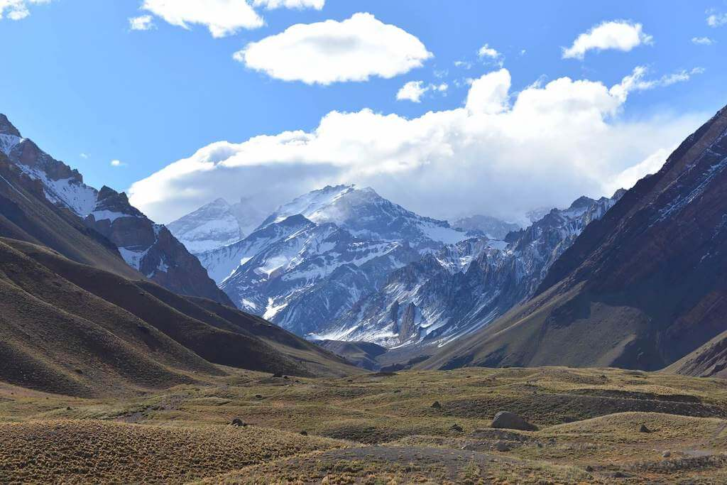 The mountains of Aconcagua