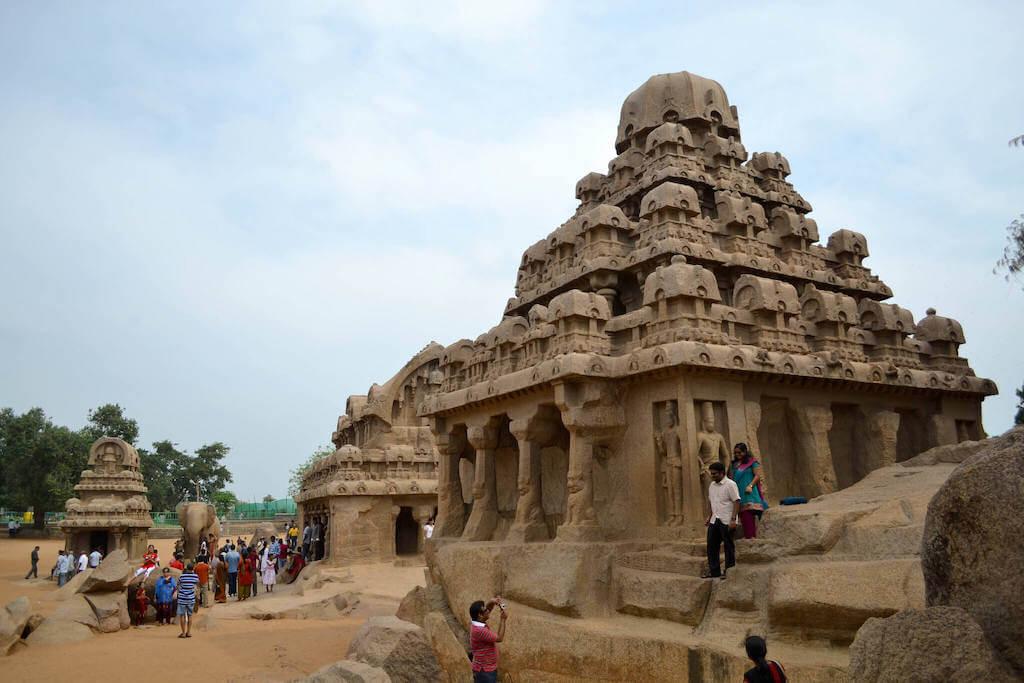 ruins of the ancient city of Mahabalipuram