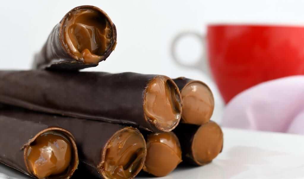 Cuchuflíes chocolate wafers