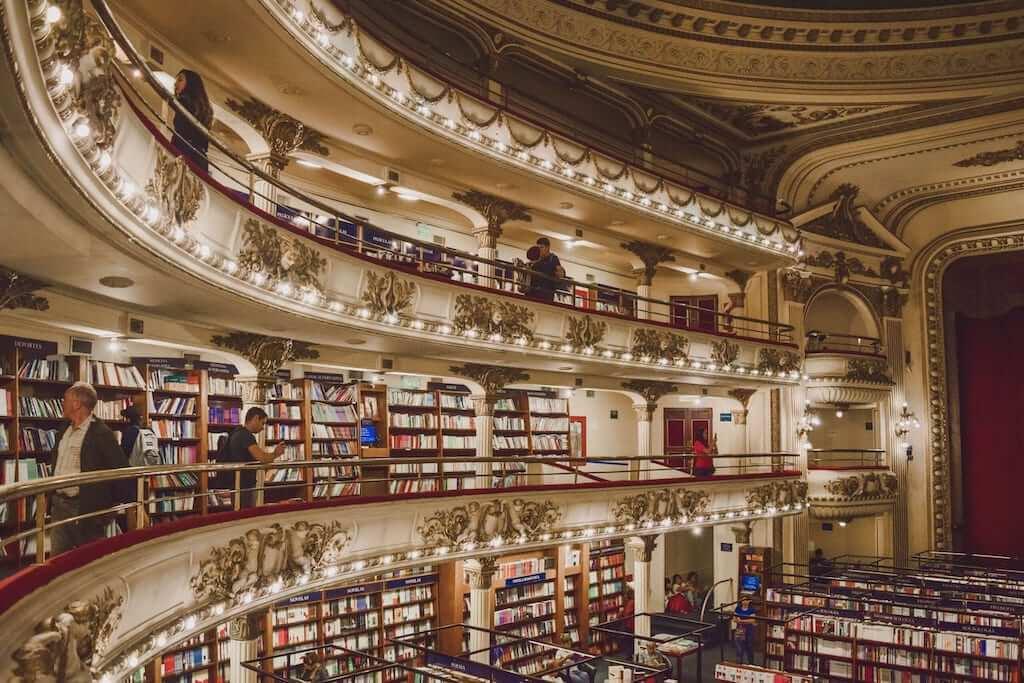 El Ateneo Grand Splendid bookshop in Argentina