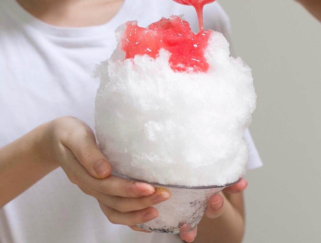 Kakiyuki shaved ice