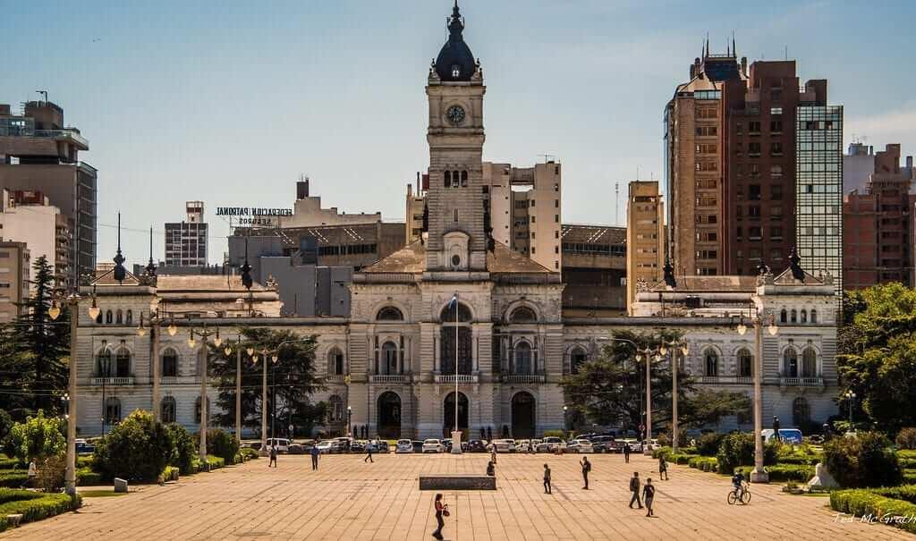 Buildings in the city of La Plata