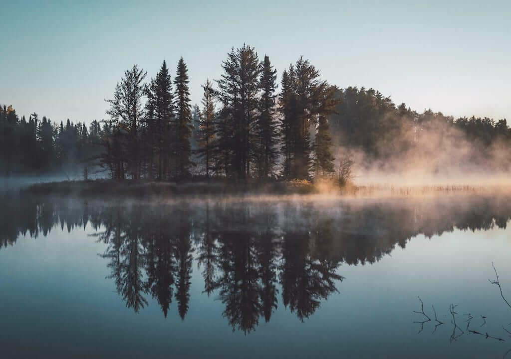 A lake in Sweden