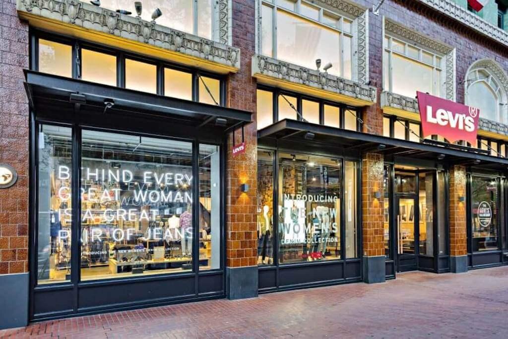 Levi's storefront