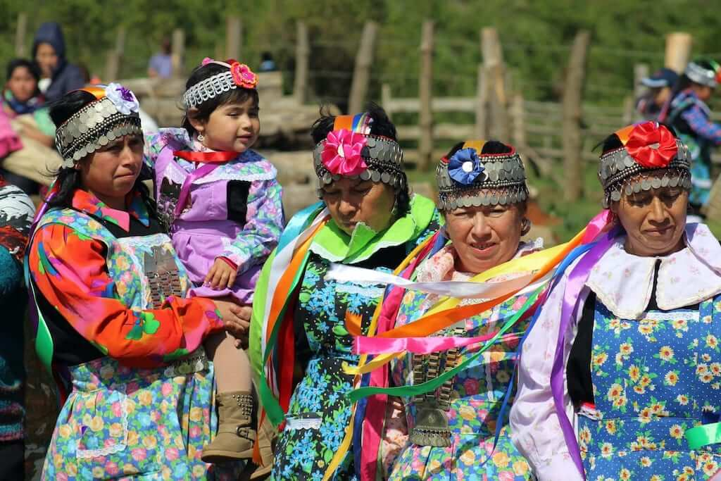 The Mapuche women in Chile