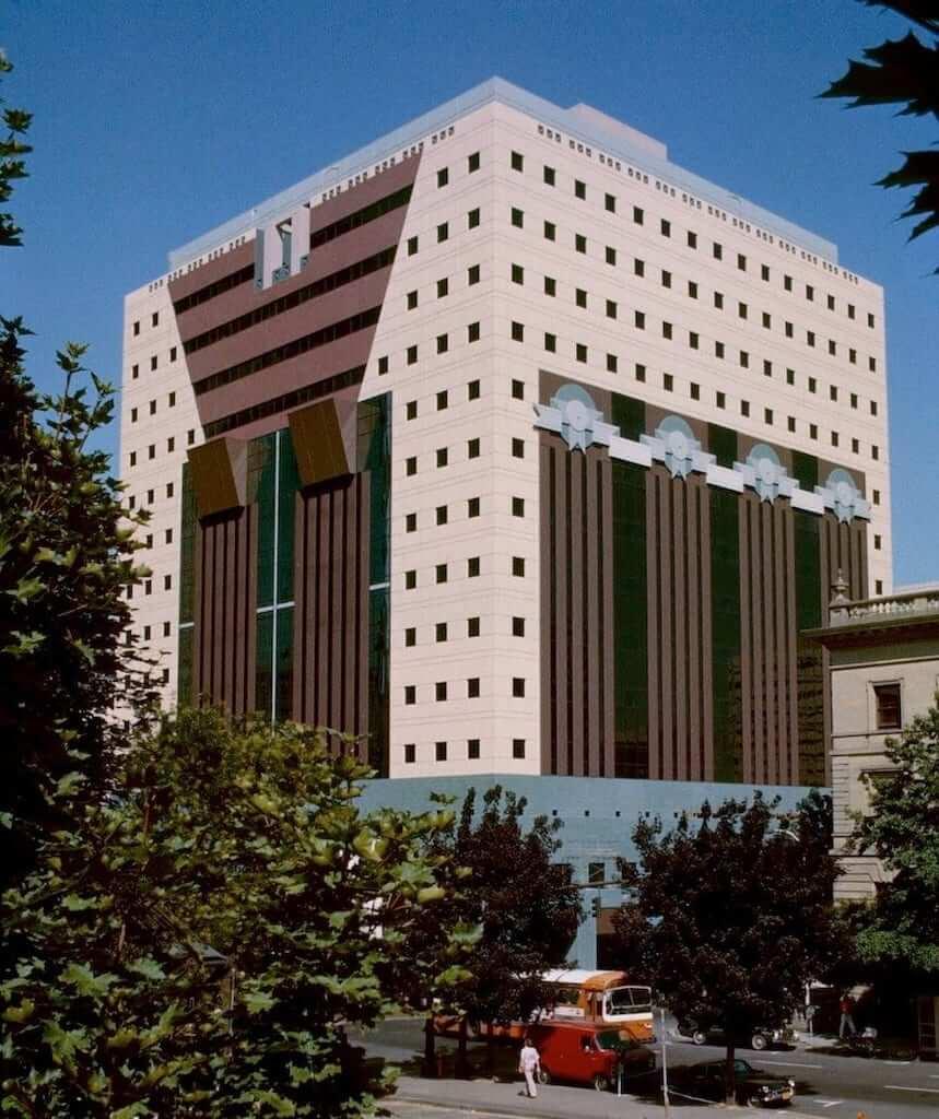 facade of portland building