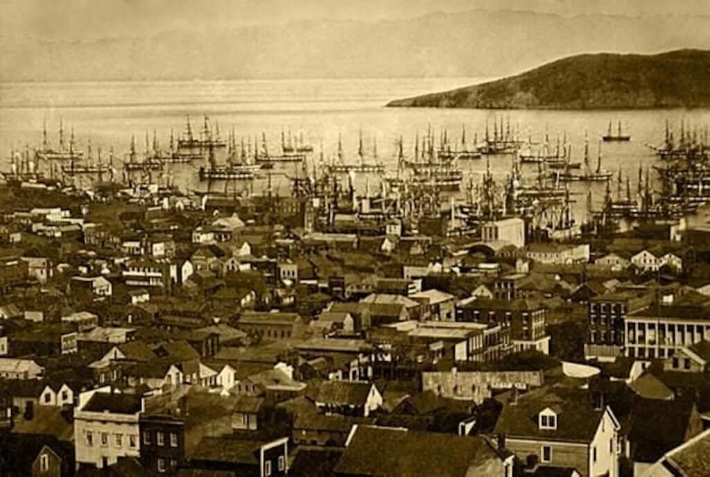 The Gold Rush town in San Francisco