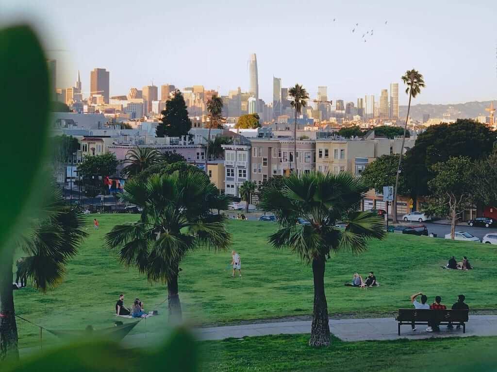 A park in San Francisco
