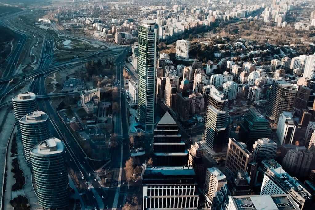 Buildings in Santiago