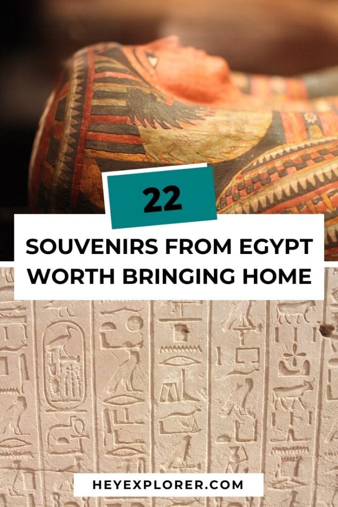 souvenirs from Egypt