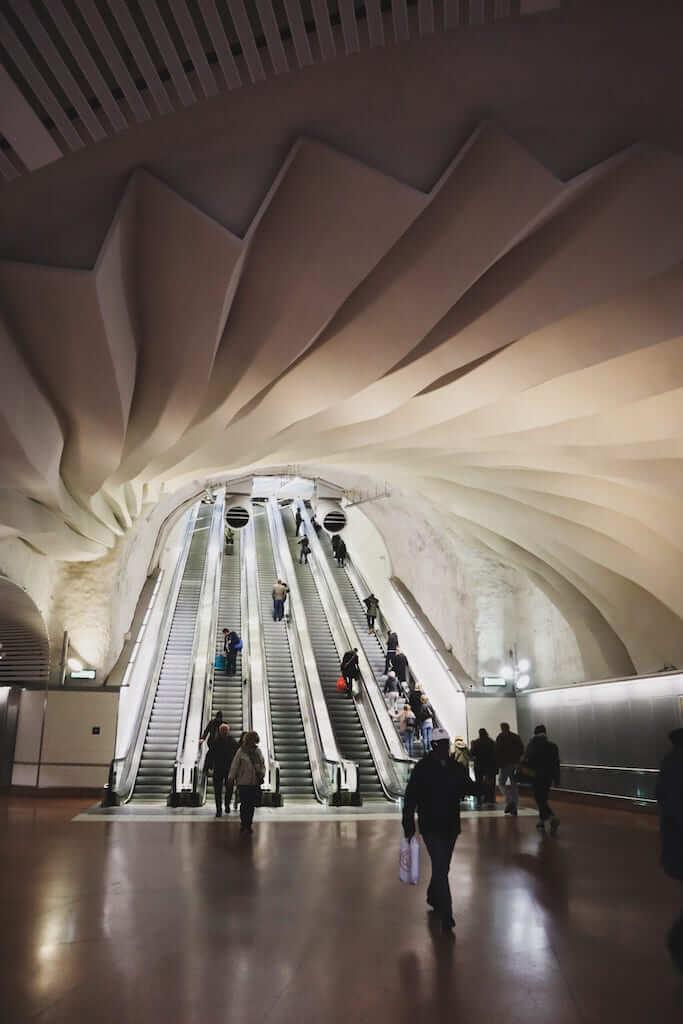 The stockholm metro underground
