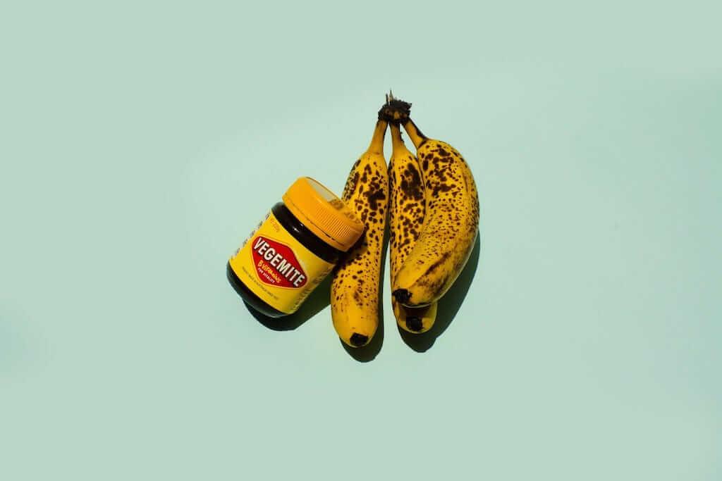 vegemite and banana