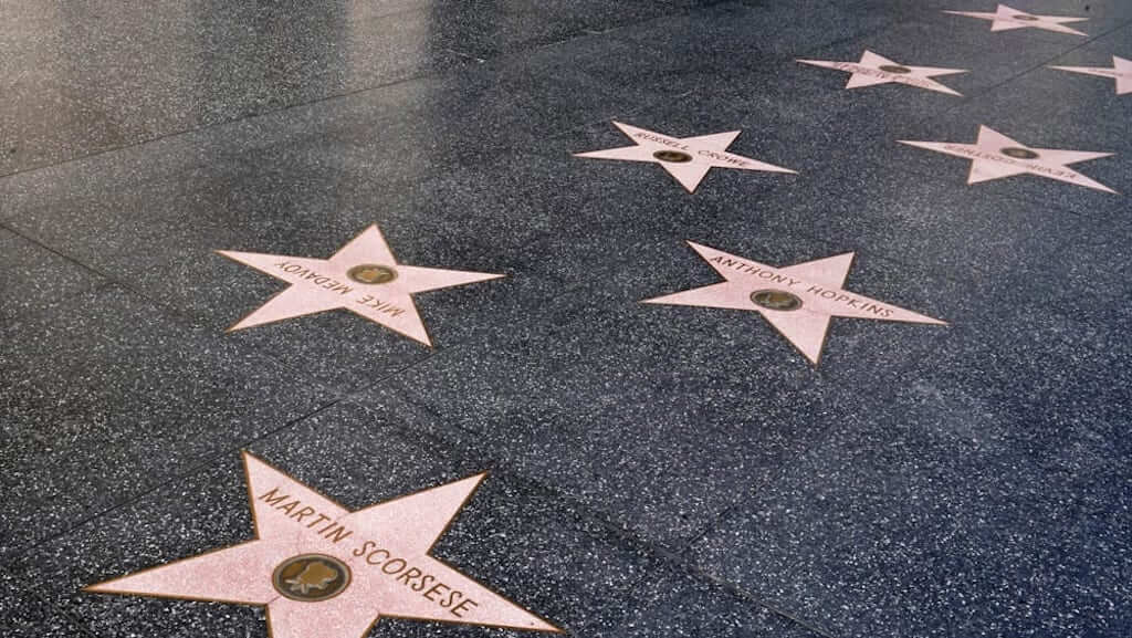 hollywood stars of fame
