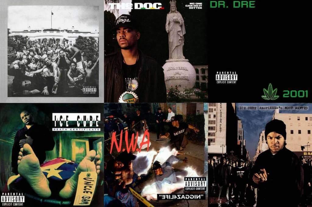 West coast hip hop posters