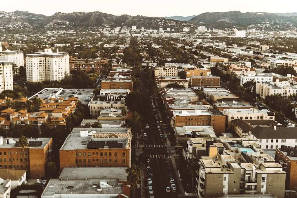 West Hollywood panorama