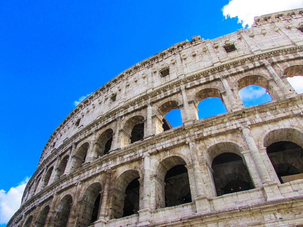 The Colosseum, a famous Italian landmark