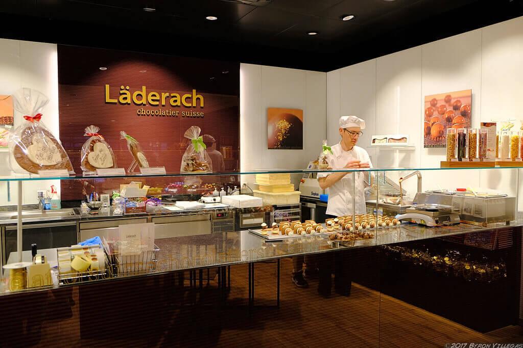 Laderach chocolates