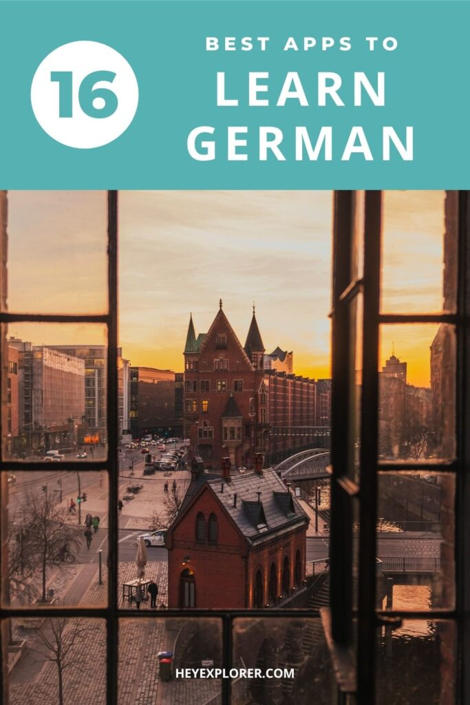 apps to learn German