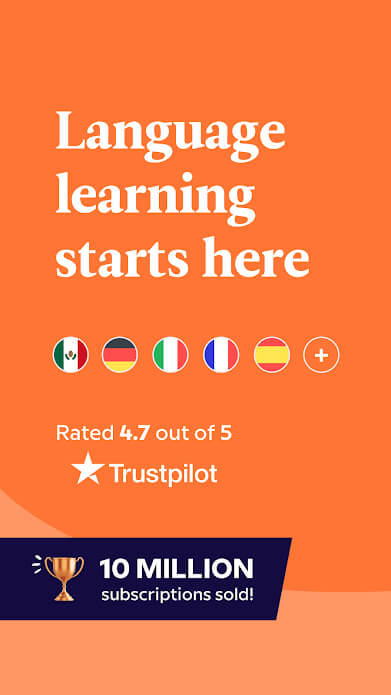 Learn a language on Babbel