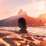 brazil woman swimming