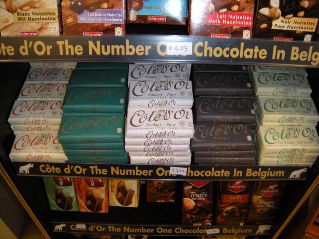 cotes dor chocolates