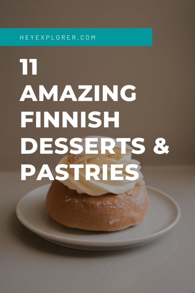 Finnish desserts and pastries