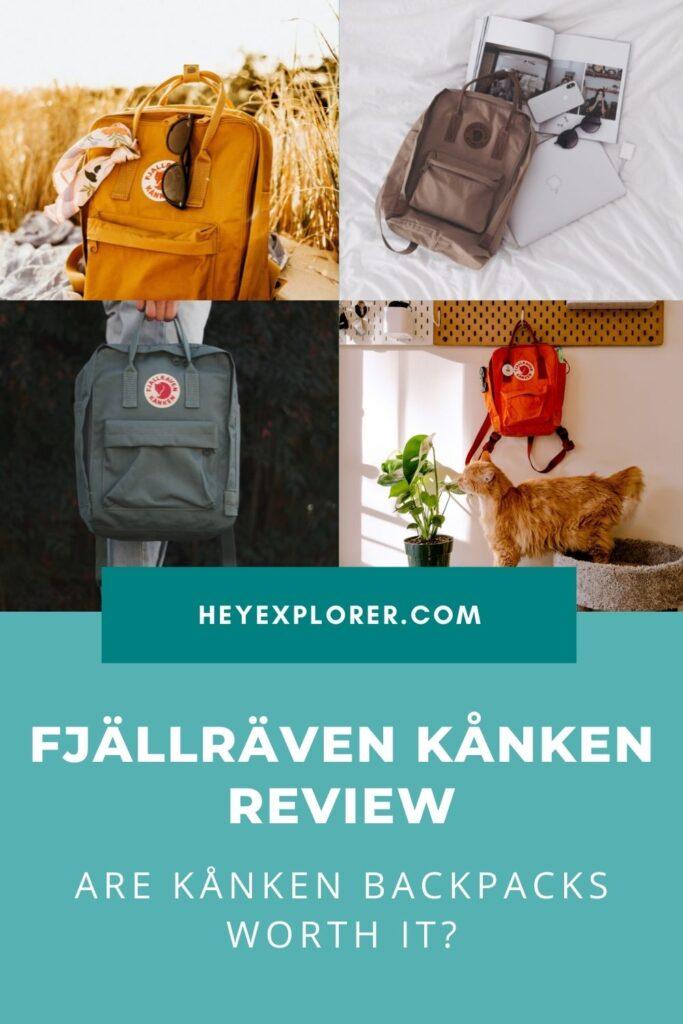 Fjällräven Kånken Review