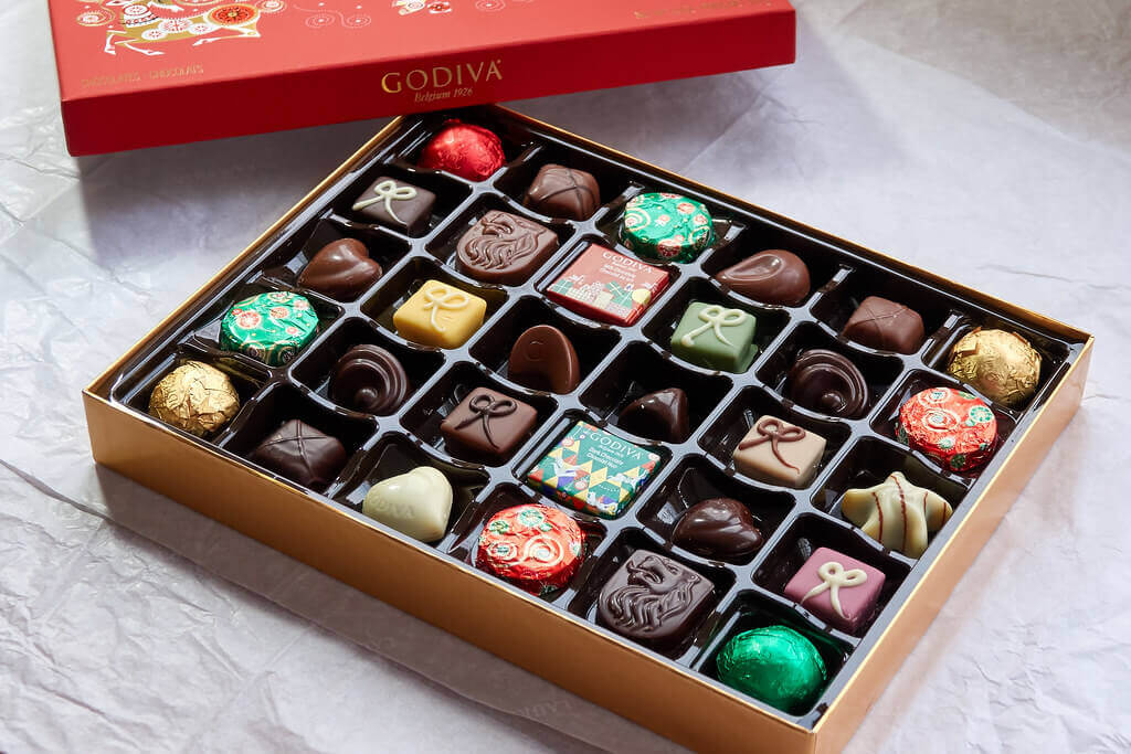 godiva belgian chocolates