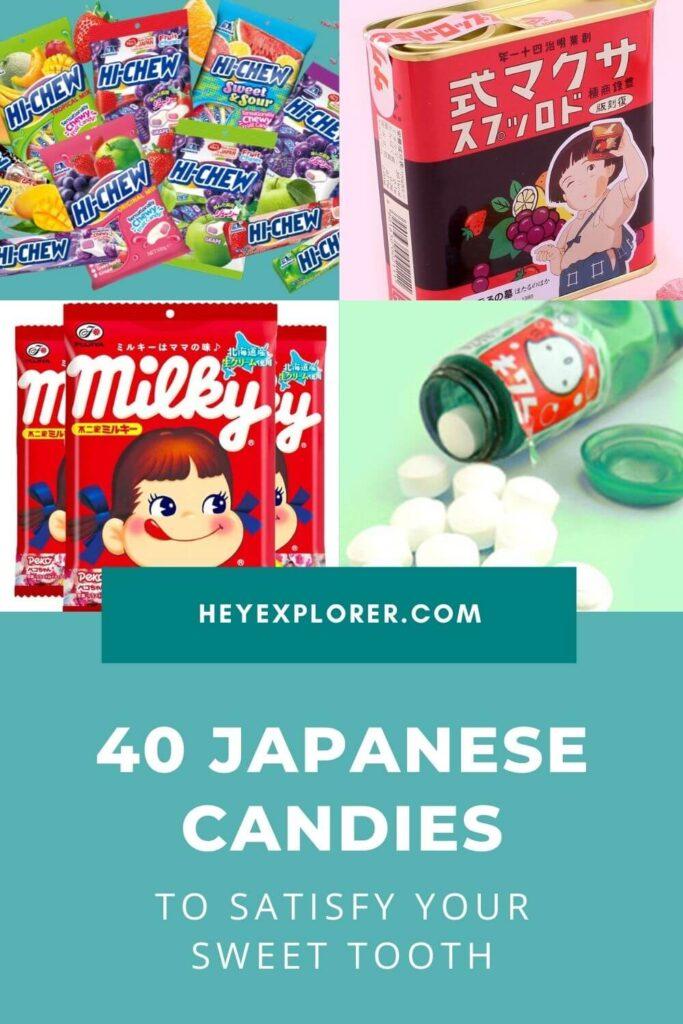 Japanese candies