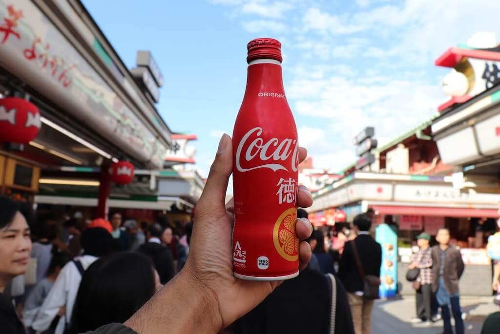 japanese coca cola