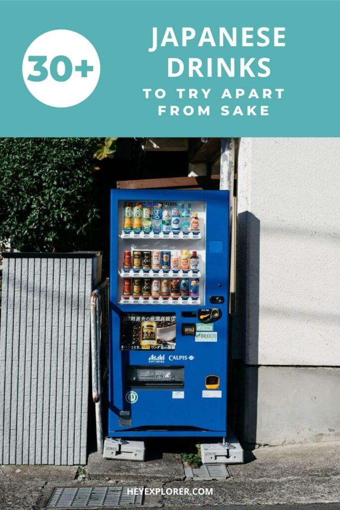Japanese drinks