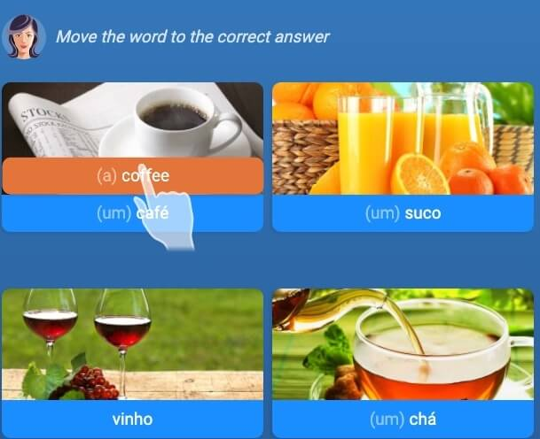 Learn Portuguese on Mondly