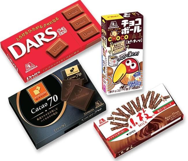 morinaga chocolate products
