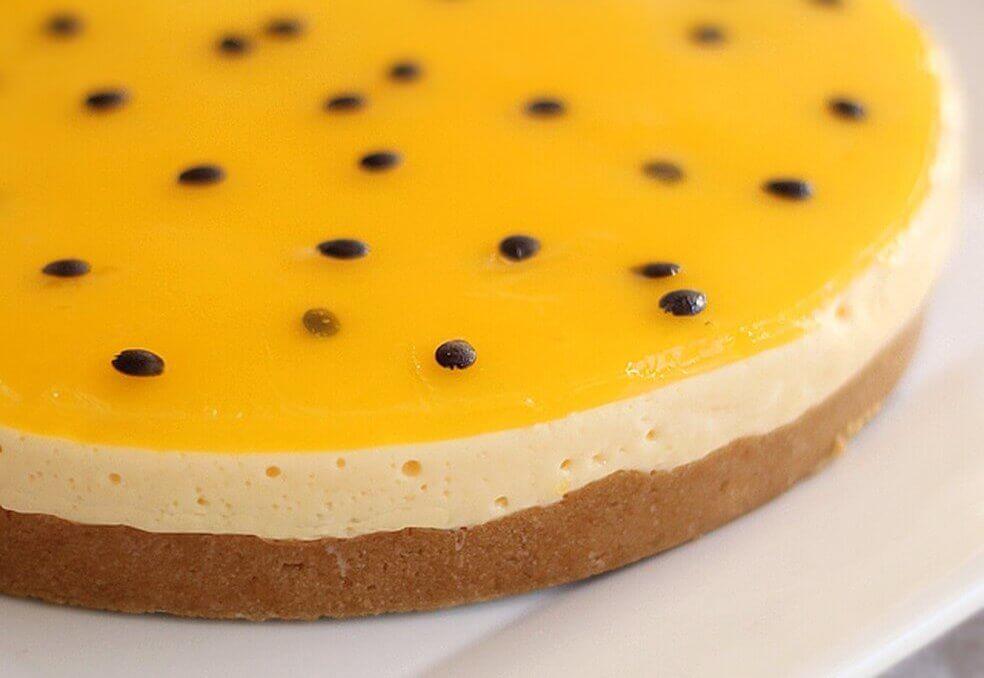 passion fruit pie