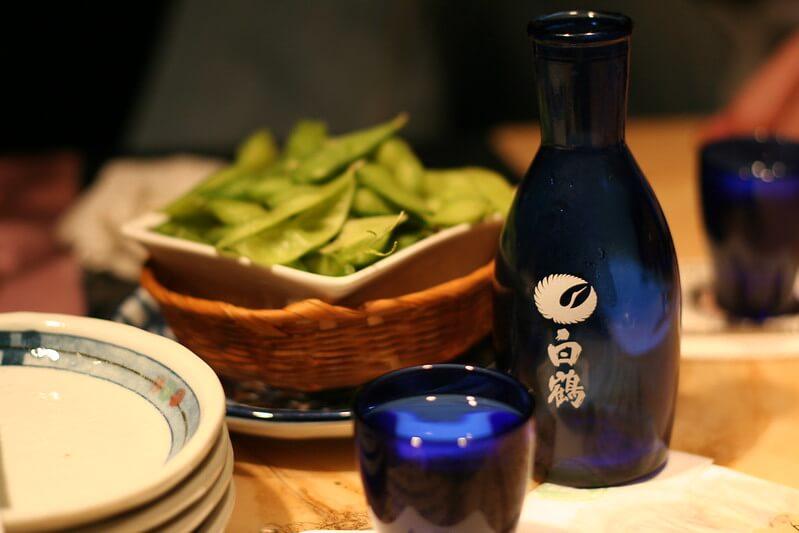 Japanese shochu drink
