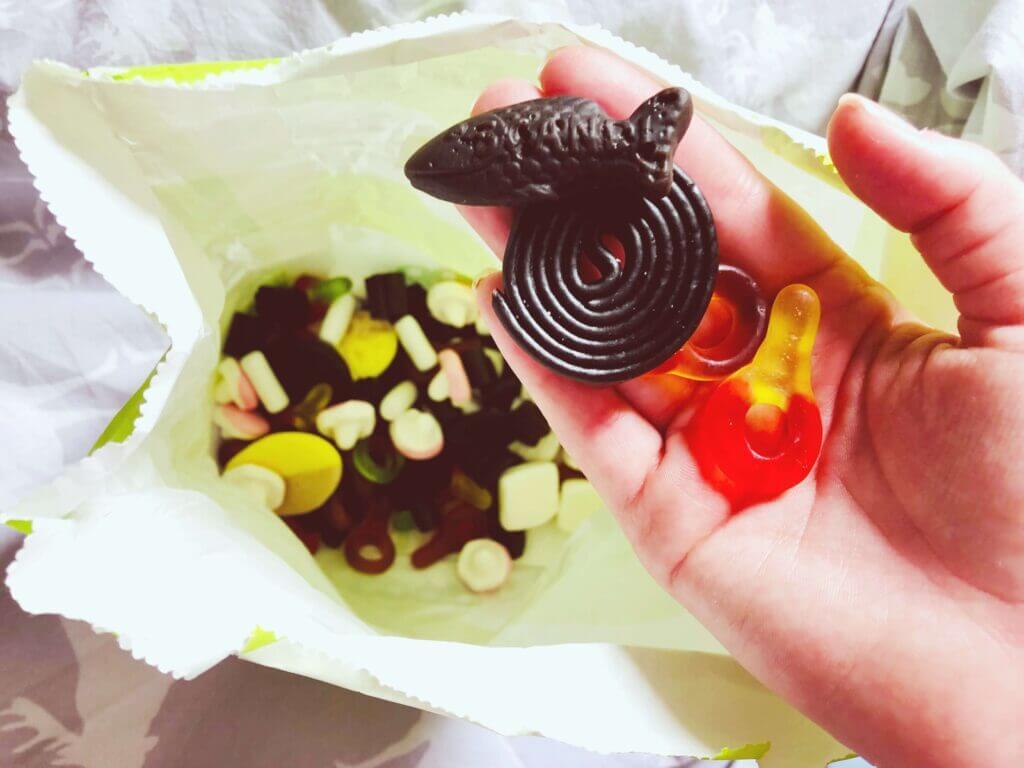 swedish chocolates and gummies