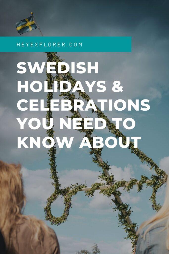 Swedish national holidays