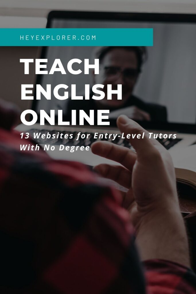 teach english online without a degree