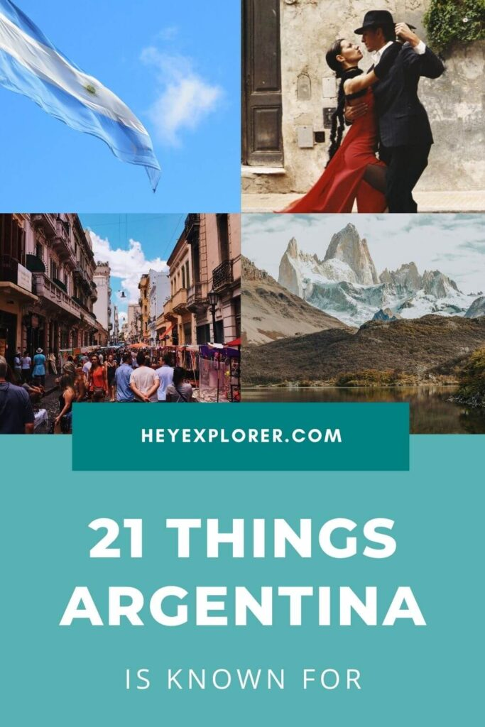 what is argentina known for