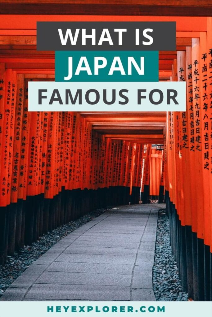 things japan is famous for