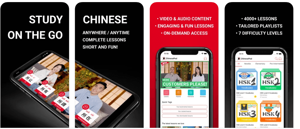 Improve your Chinese with ChinesePod
