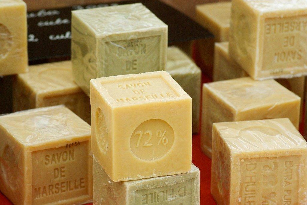 Blocks of Savon de Marseille