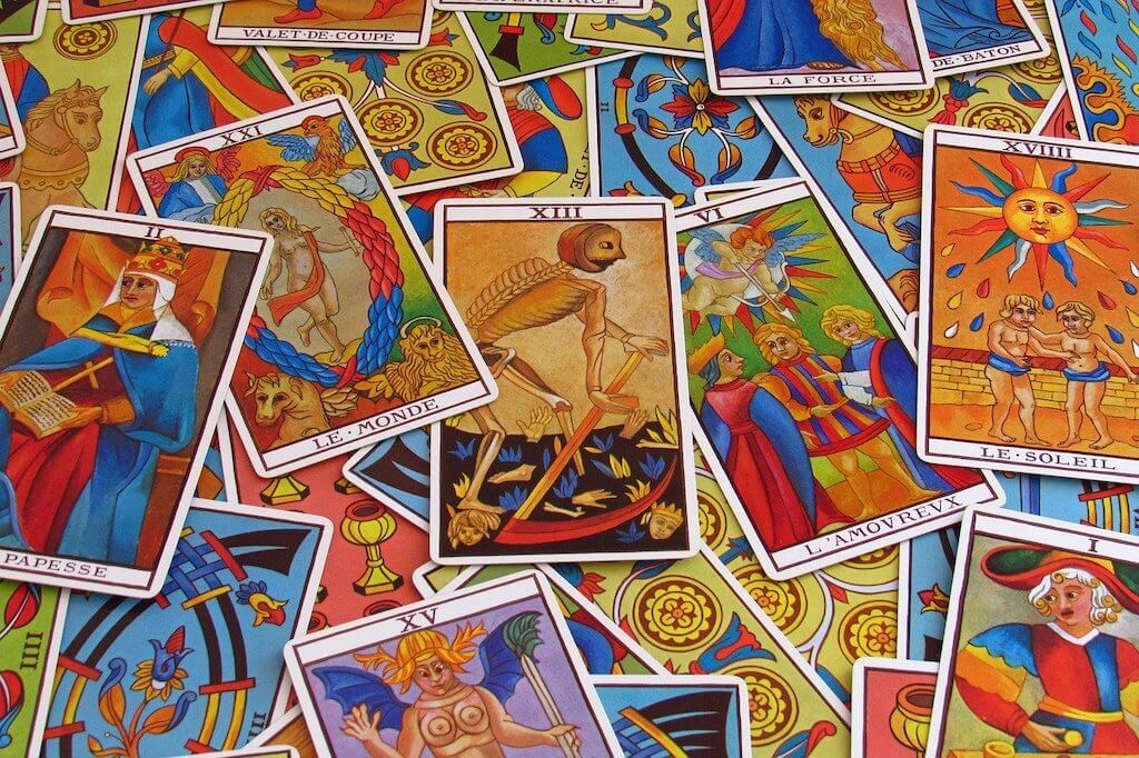 Marseille tarot cards