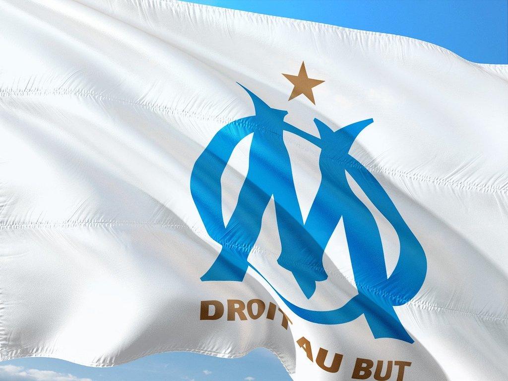 Olympique Marseille flag
