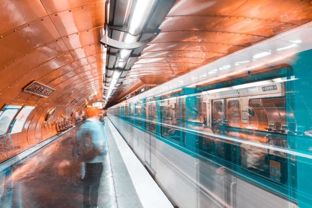 The metro in Paris