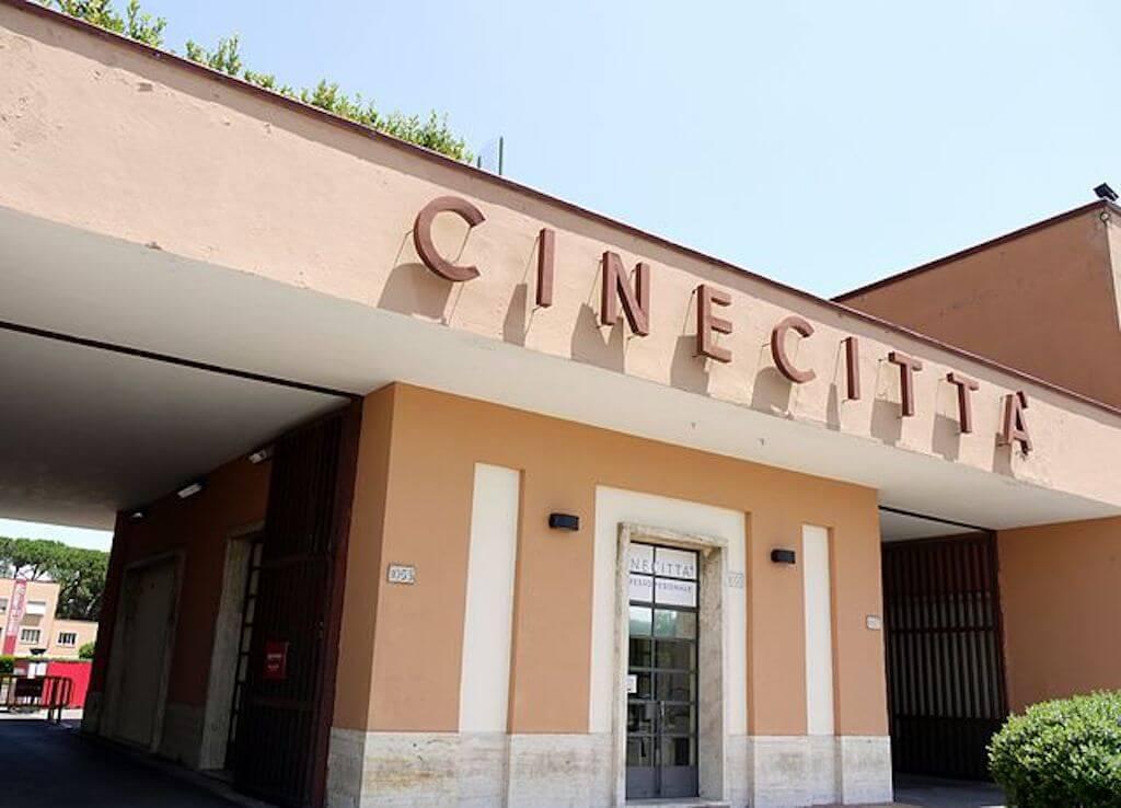 Europe's largest film studio, Cinecittà