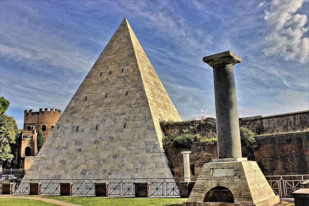 Pyramids in Rome