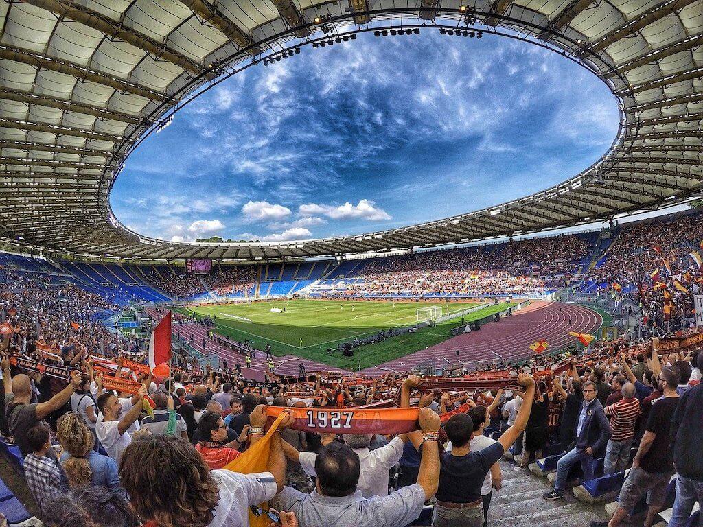 A stadium in Rome