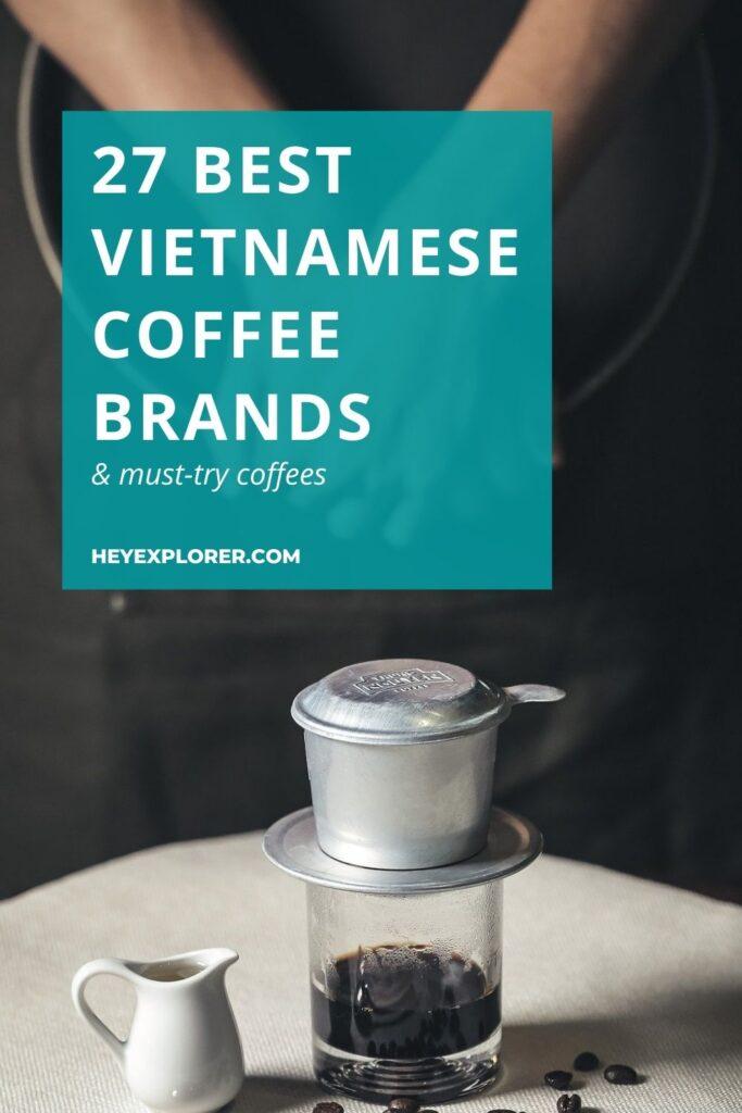 Vietnamese coffee brands
