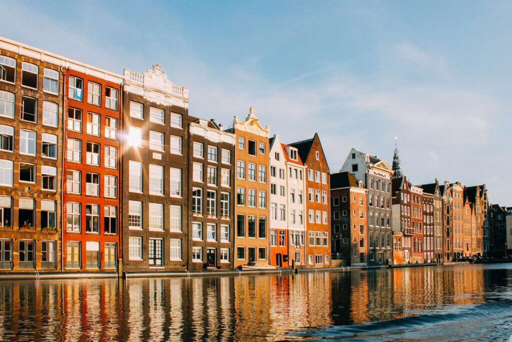 iconic buildings in Amsterdam